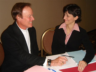 Bill Lampton with Stephanie Marsh